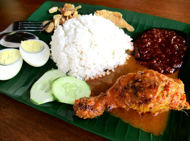 Warong Cafe nasi lemak with ayam percik 1