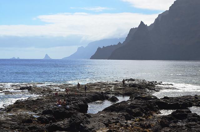 Anaga Mountains, morning, Tenerife
