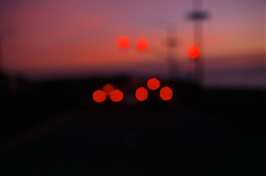 Red Lights at Dusk | by Robert Ogilvie