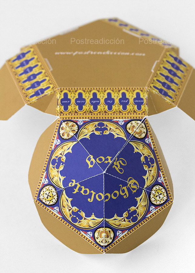 Harry Potter caja ranas chocolate