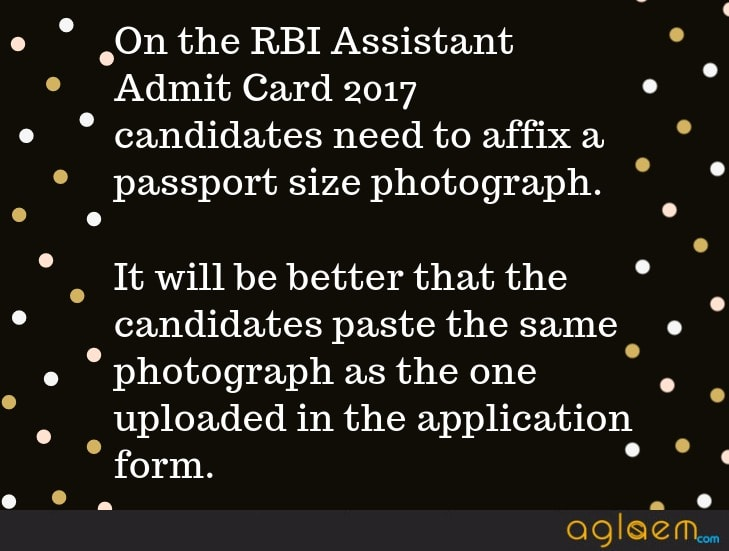RBI Assistant Admit Card 2017   Download at www.rbi.org.in for Main Exam