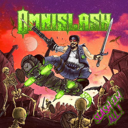 Cover of Slash 'Em All! by Omnislash