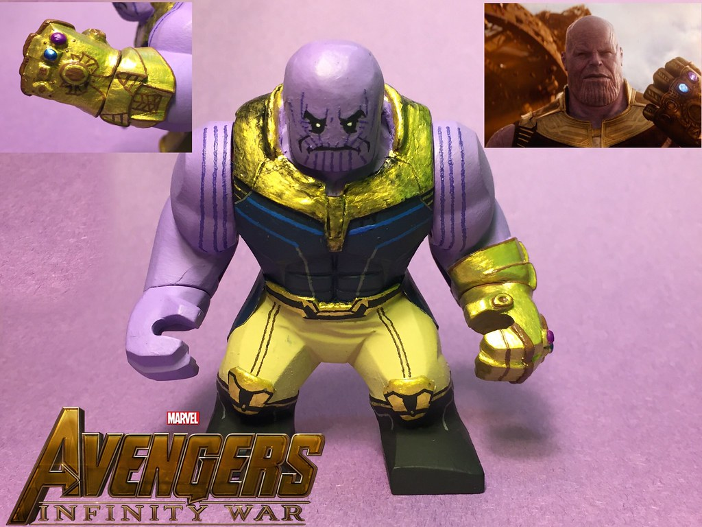 Thanos From Infinity War Finally Made A New Thanos After T Flickr