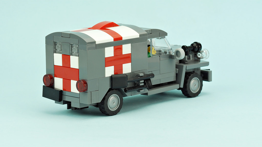 Army Ambulance Building Instructions Youtube De Marco Flickr