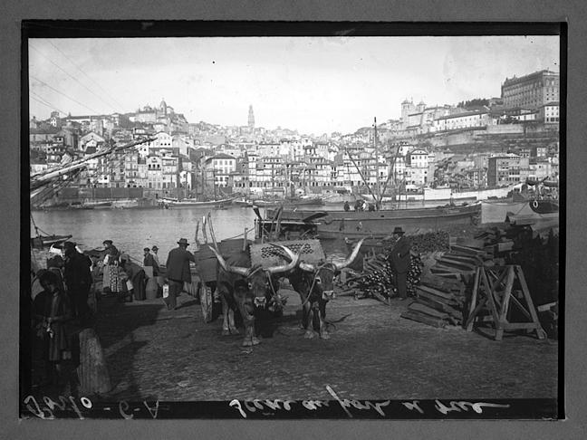 Porto. Scene au port et rue