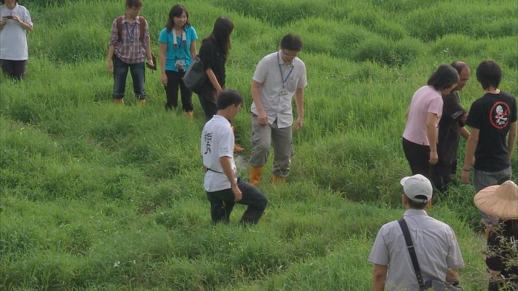 930-2-02這裡是台灣最特殊的一個農業區,農田浮在沼澤上,稱為浮田。