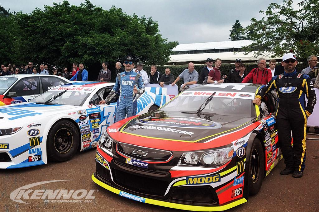 KENNOL has provided 2 new ULTIMA oils for Euro NASCAR.