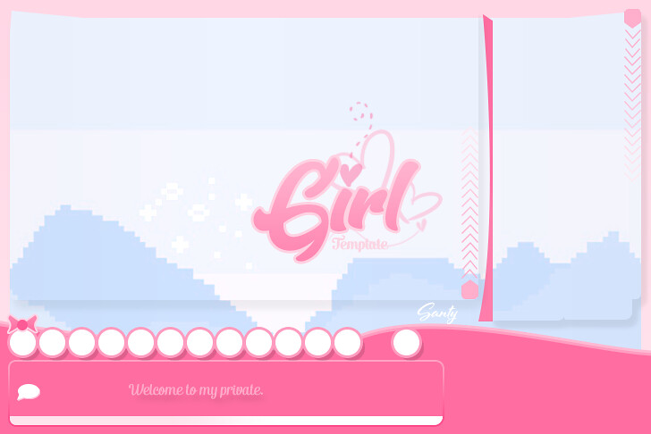 girl bg xat template editable for sale vicente designs flickr