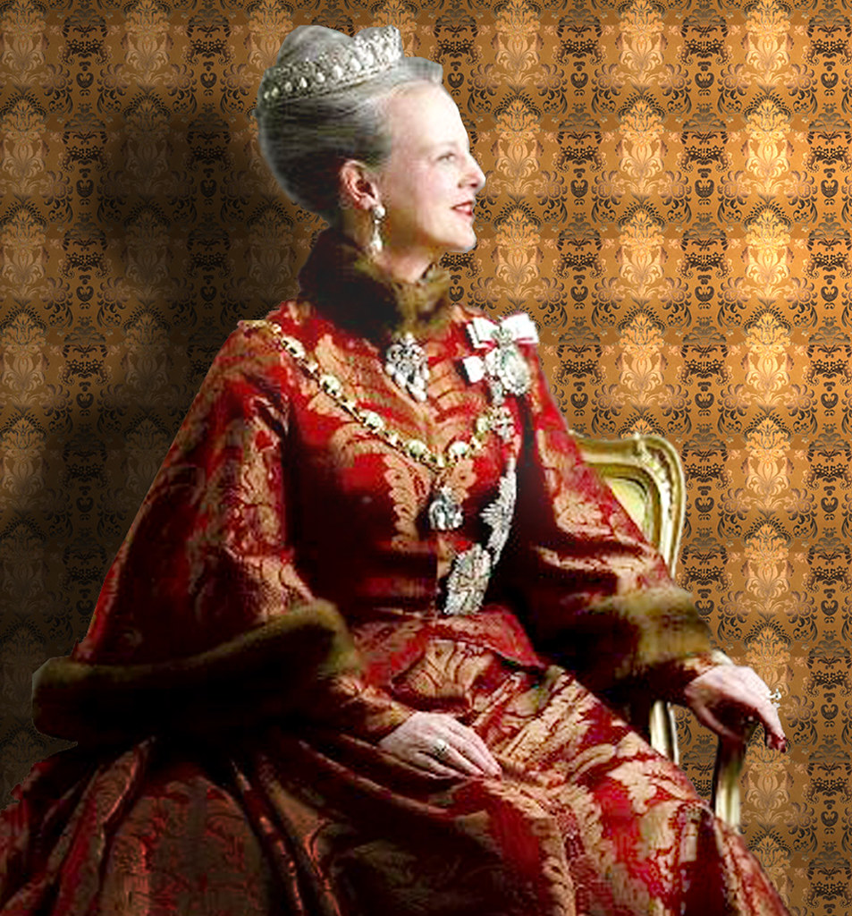 Queen Margrethe Ii Of Denmark Picture Queen Margrethe