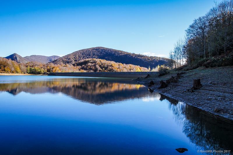 Lago Lareo y monte Alleko