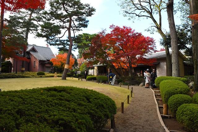 大田黒公園 茶室と記念館