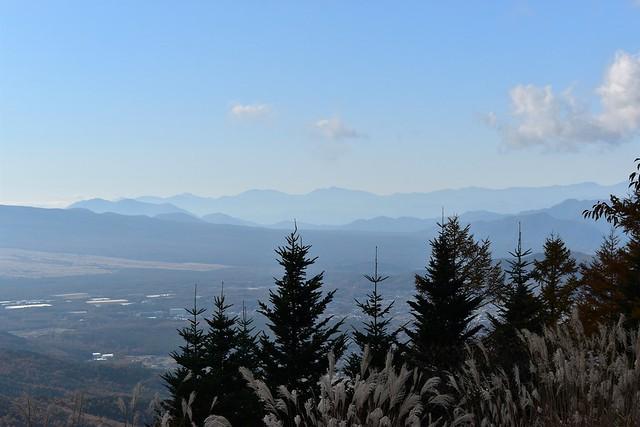 石割山からの南アルプス