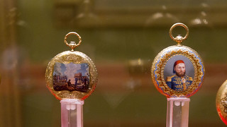 Golden pocket watches at Egypt's Royal Jewelry Museum | by Kodak Agfa