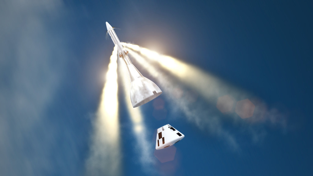 Orion Ascent Abort-2 Flight Test | NASA's Orion spacecraft