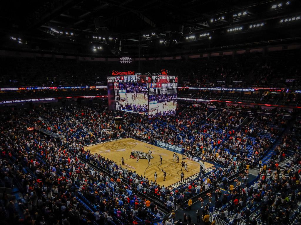 ... San Antonio Spurs Vs New Orleans Pelicans At Smoothie King Center   New  Orleans LA  