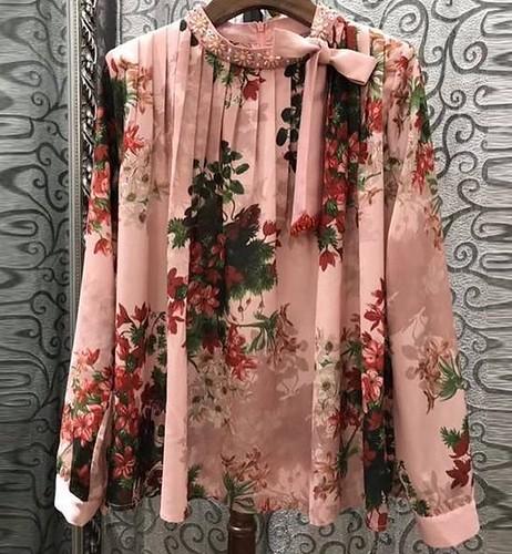 casual #blusa #lazada #flores...