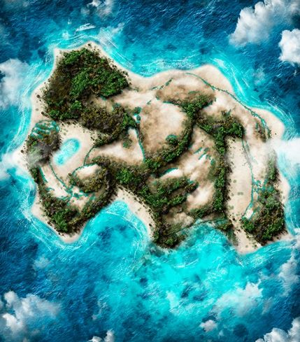 Island Photoshop Action