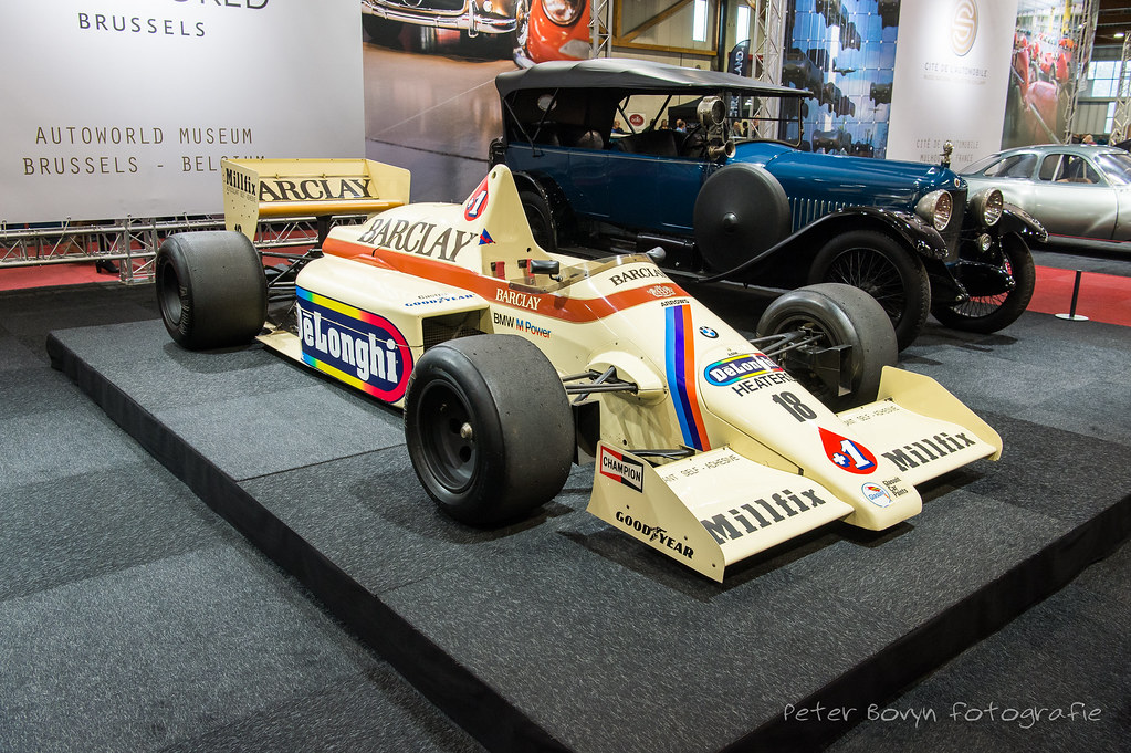 Arrows Bmw A8 1985 Thierry Boutsen These Arrows Equipped Flickr