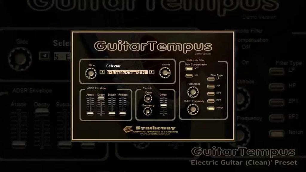 virtual electric guitar vst clean guitar from guitartempu flickr. Black Bedroom Furniture Sets. Home Design Ideas
