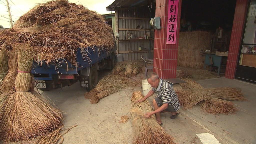 929-2-18藺草不斷衍生出各種編織產品,苑裡鎮的帽蓆出口還曾攀上全國出口的第三名。