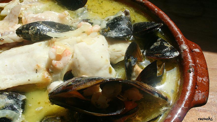 receta abadejo con clochinas Valencianas