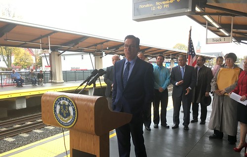 Gov. Malloy Announces Opening of New Train Station in Wallingford That Will Serve the Hartford Line | by Office of Governor Dan Malloy