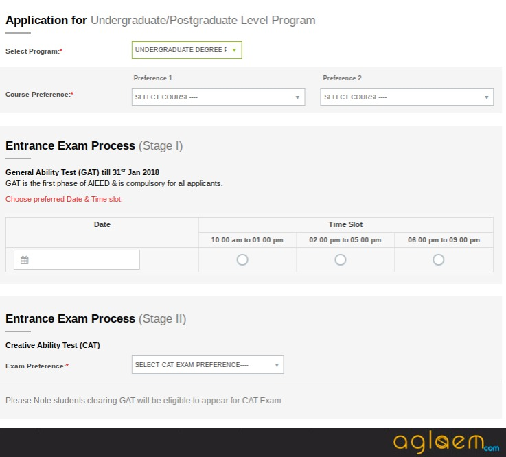 AIEED Application Form 2018 (Available) – Apply Online Here