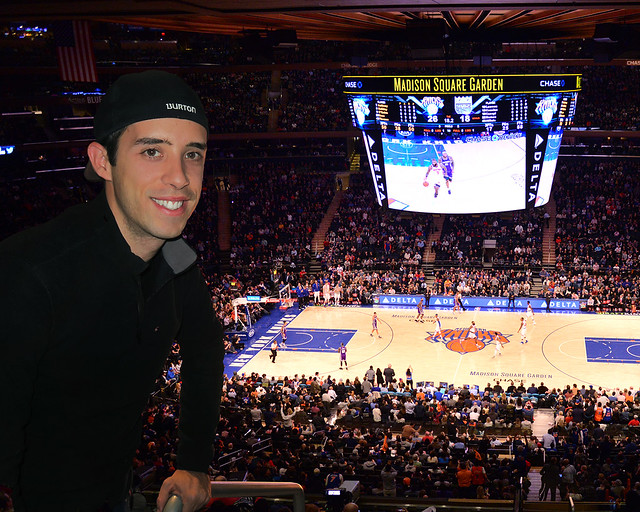 Diario de un Mentiroso en un partido de la NBA en Nueva York