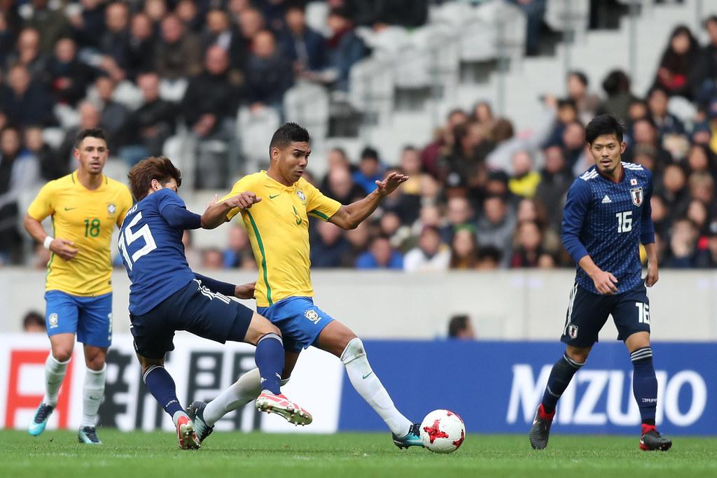 6116a17b6e94f Japão x Brasil em Lille. Lucas Figueiredo CBF