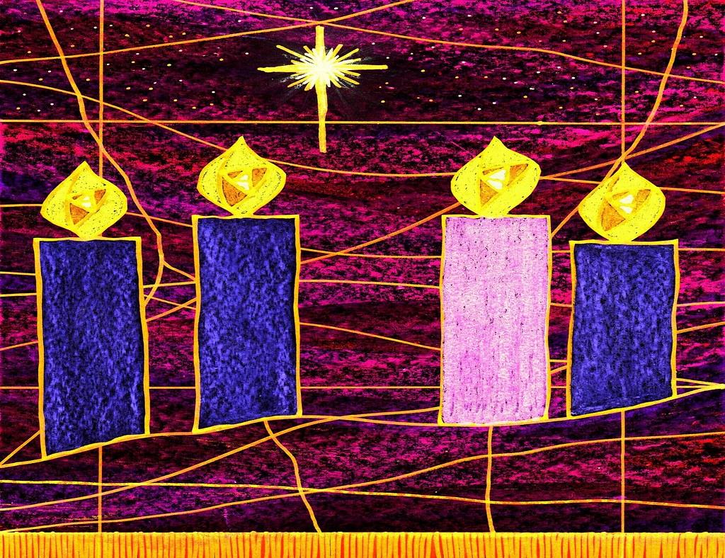 advent 4 4 candles for advent john flickr. Black Bedroom Furniture Sets. Home Design Ideas