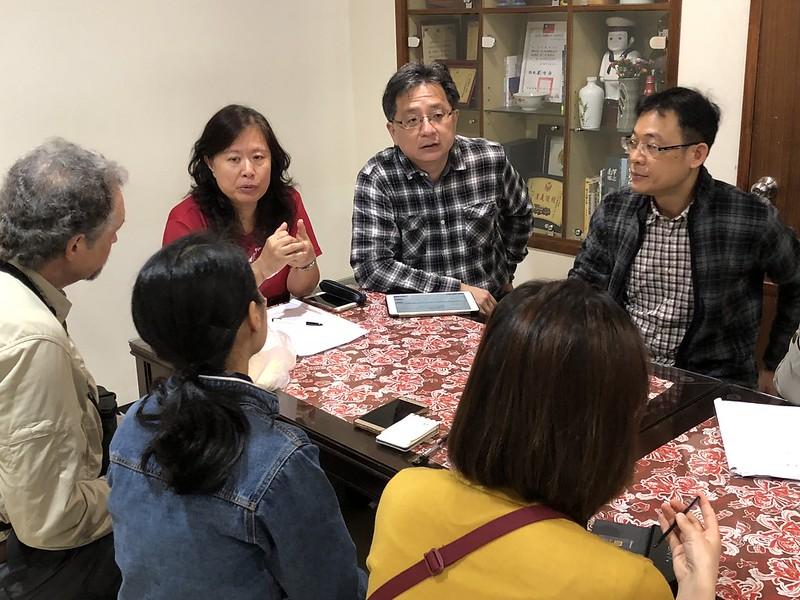 台、中、韓、美燕鷗保育專家討論未來合作機制。攝影:廖靜蕙