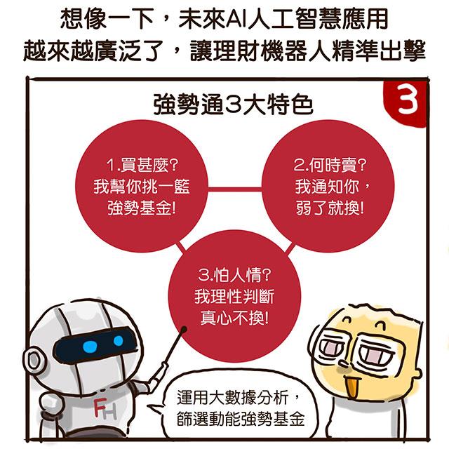 強勢通 理財機器人 復華投信 基金 投資 投資理財 人2 People2 徵女友