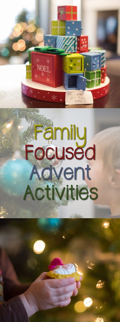 Are you looking for some great family focused advent activities? These are simple and fun!