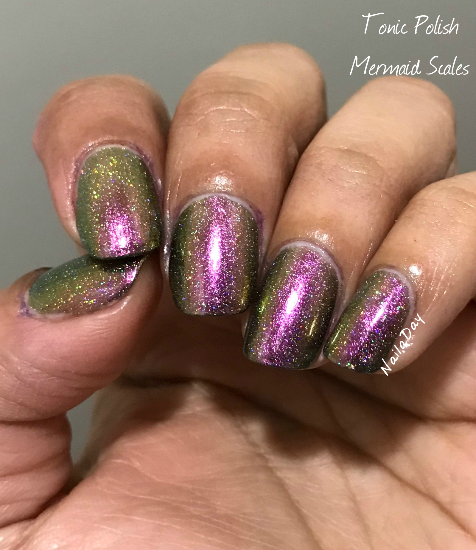 NailaDay: Tonic Polish Mermaid Scales