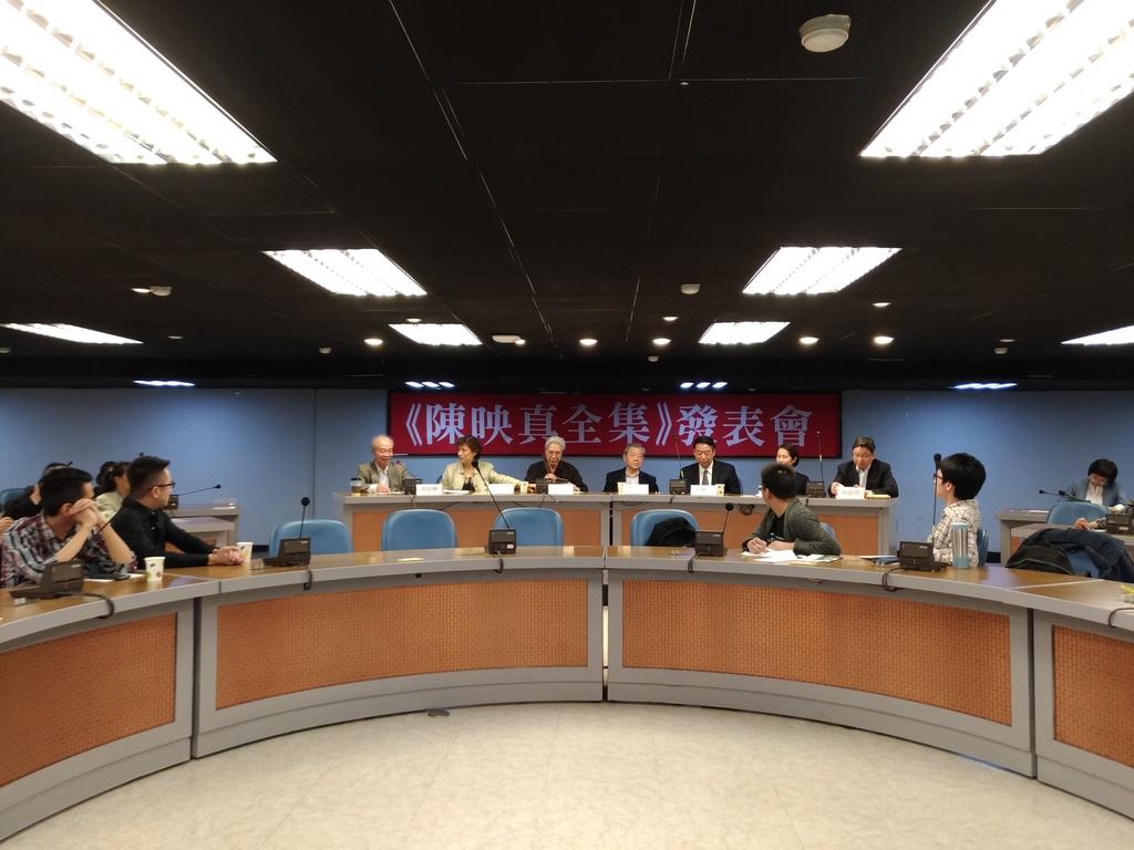 歷時一年編輯,《陳映真全集》於11月4日正式發表。(攝影:張宗坤)