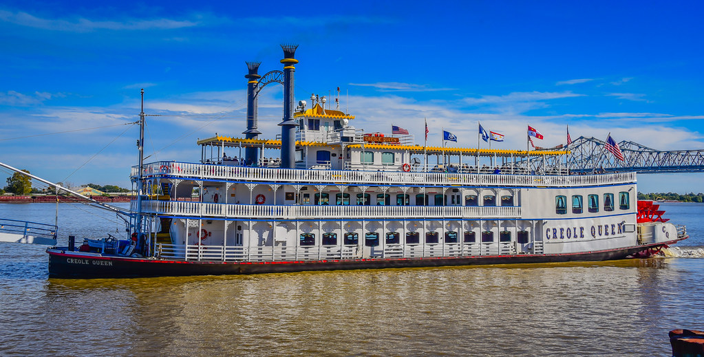 Creole queen steamboat new orleans