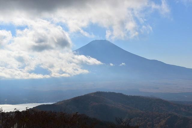 石割山からの富士山