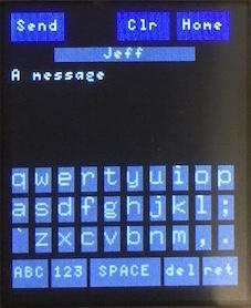 Разработка UI для сотового телефона на Python