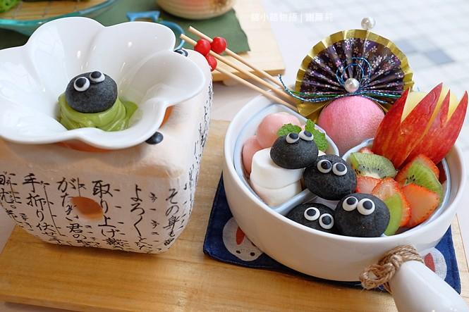38434804956 4ec014d371 b - 錦小路物語 | 窩藏巷弄內的日本食堂,食尚玩家推薦 冬季限定的療癒系煤炭精靈甜點真的超可愛!