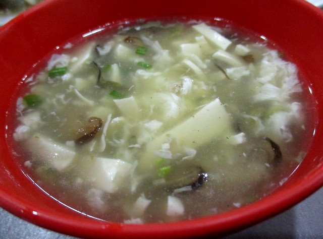 Nice Hosue Foochow tofu soup with canned oysters