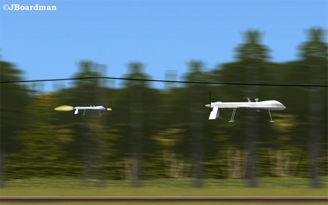 Posse drone finds target ©JBoardman