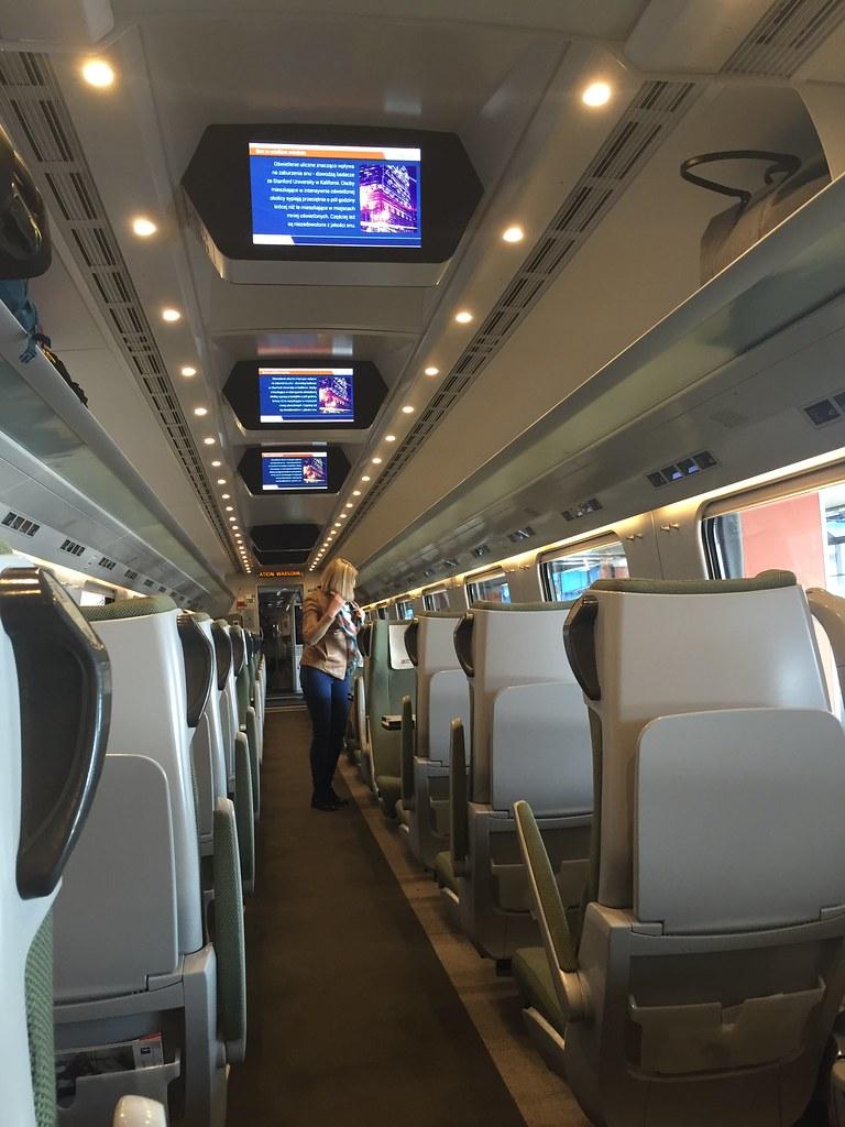 Express Intercity Premium Varsovia - Gdansk