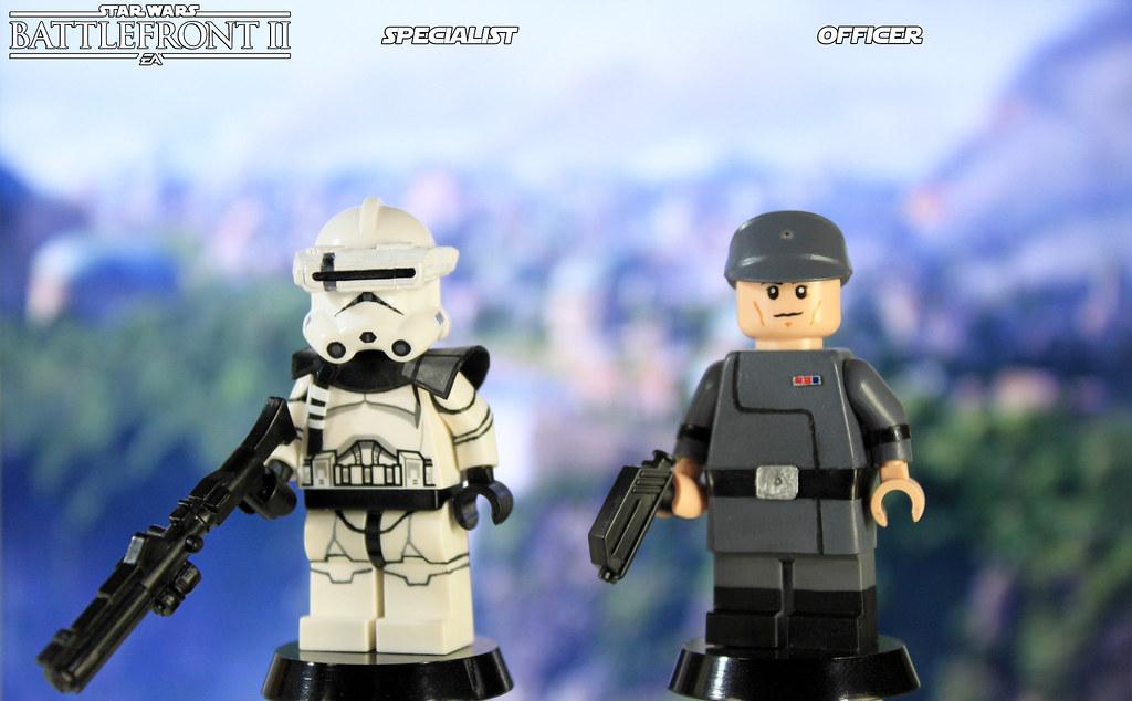 Custom LEGO Star Wars Battlefront II: Specialist and Offic… | Flickr