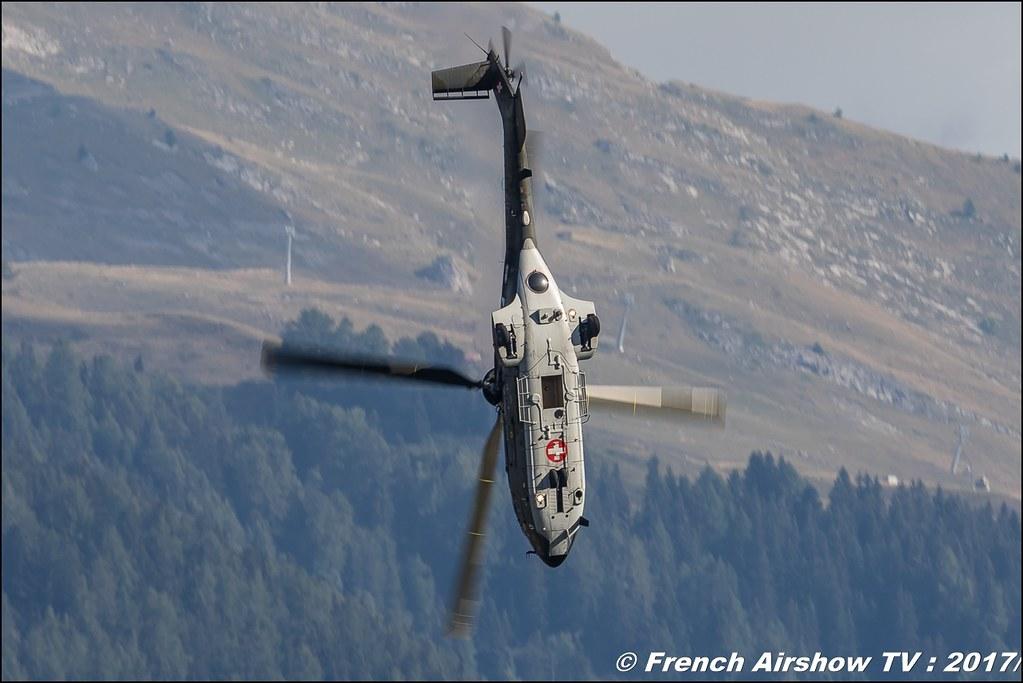 Super Puma Display Team CH , Breitling Sion Air Show 2017 , sion airshow , montagne , Alpes suisse , Canton du Valais , Meeting Aerien 2017