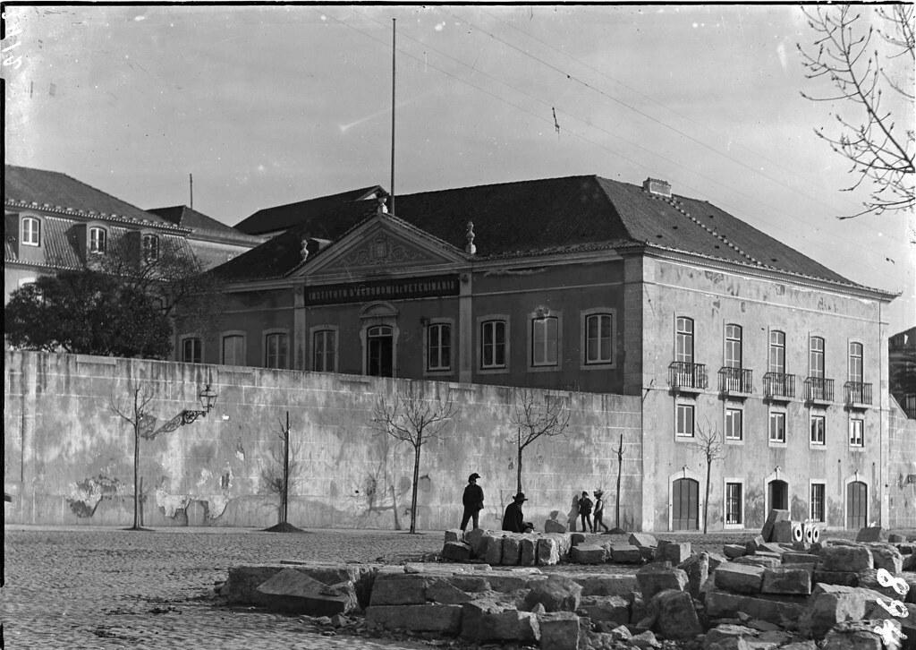 Instituto de Agronomia e Veterinária, Gomes Freire (A.F.C.M.L., 1898-1908)