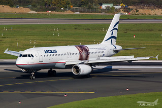 Aegean Airlines - A320 - SX-DVV (1) | by amluhfivegolf