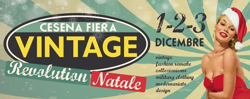 Vintage Revolution Natale Cesena Dicembre
