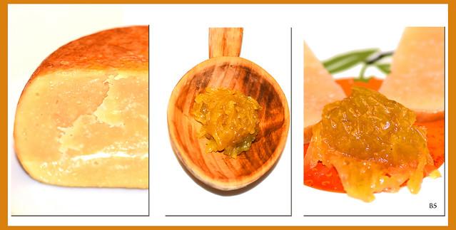 Zwiebel-Honig-Chutney_Marmellata di cipolle_zu Hartkäse, Kartoffeln, Fisch, Eiern, Bruschetta ... Foto: Brigitte Stolle