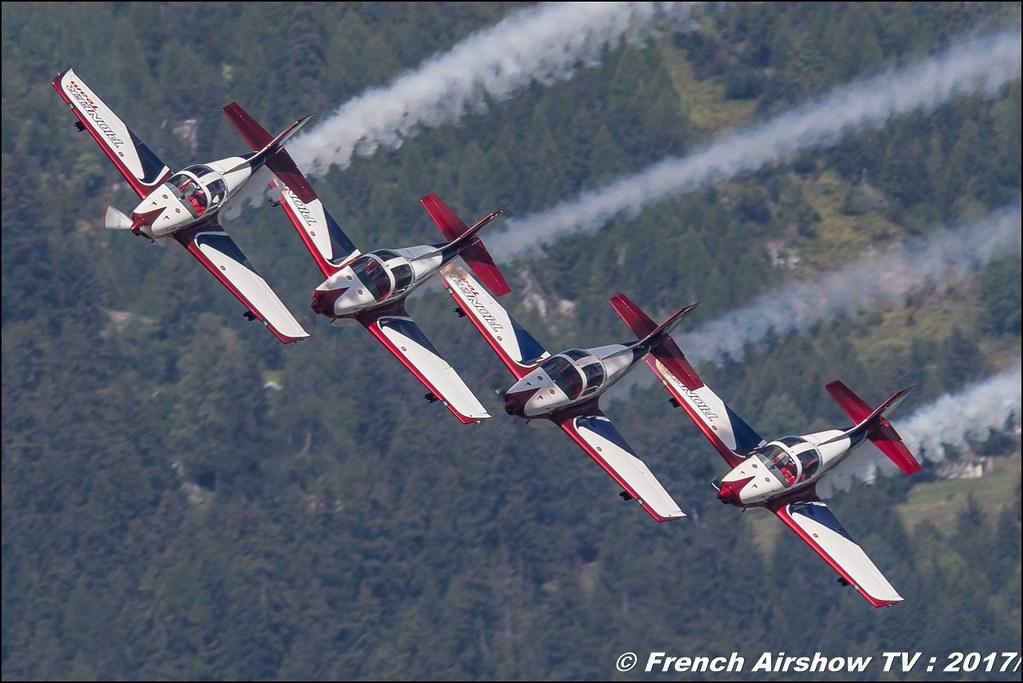 Pioneer Team , Pioneer 330 , Pioneer Team civil display - Aerobatic Teams , Breitling Sion Air Show 2017 , sion airshow , montagne , Alpes suisse , Canton du Valais , Meeting Aerien 2017