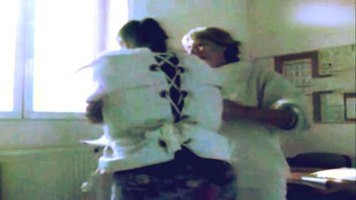 Woman In Psychiatry In A Posey Straitjacket 8121 Restraint
